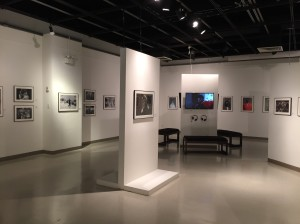 "A view of the main gallery space where ""Legendary"" is displayed at the African American Museum in Philadelphia. Photo courtesy Xander Karkruff."