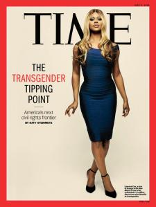 Cover of TIME Magazine, May 2014 featuring Laverne Cox.